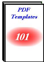 One Hundred '100' PDF Templates - zip